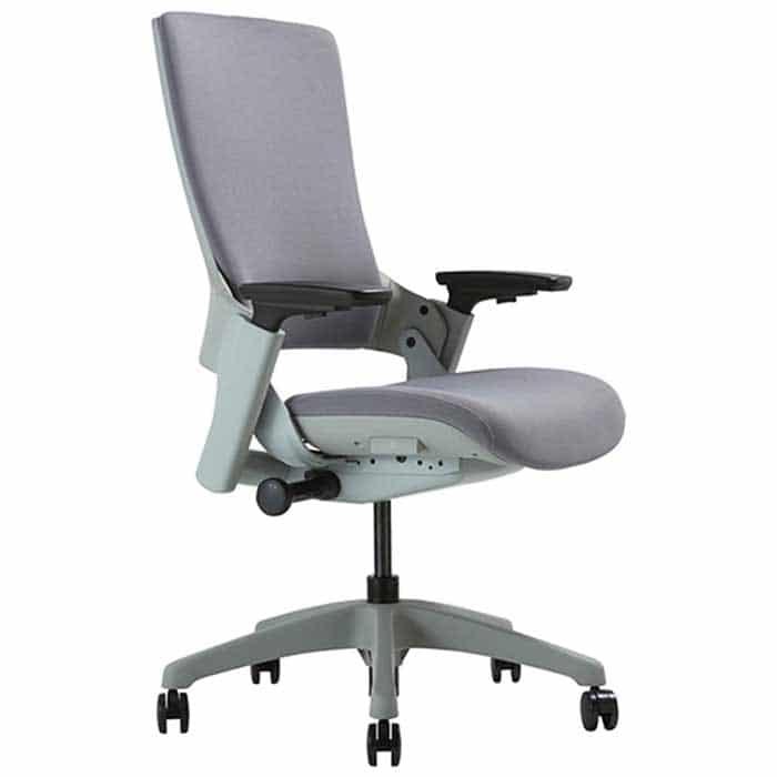 CLATINA Ergonomic High Swivel Executive Chair with Adjustable Height 3D Arm Rest Lumbar Support
