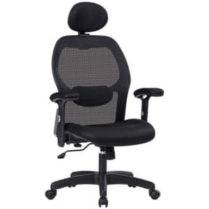 LIANFENG Ergonomic Office Chair, High Back Executive Swivel Computer Desk Chair with Adjustable Armrests and Headrest