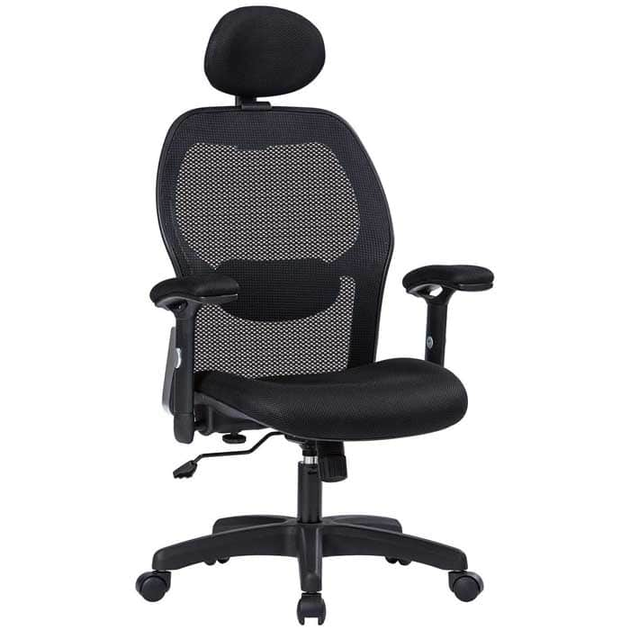 LIANFENG Ergonomic Office Chair High Back Executive Swivel Computer Desk Chair with Adjustable Armrests and Headrest