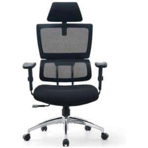 Ticova Ergonomic Office Chair - High Back Desk Chair with Elastic Lumbar Support