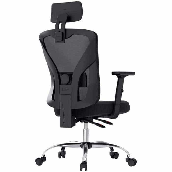 Hbada Ergonomic Office Desk Chair with Adjustable Armrest Lumbar Support Headrest