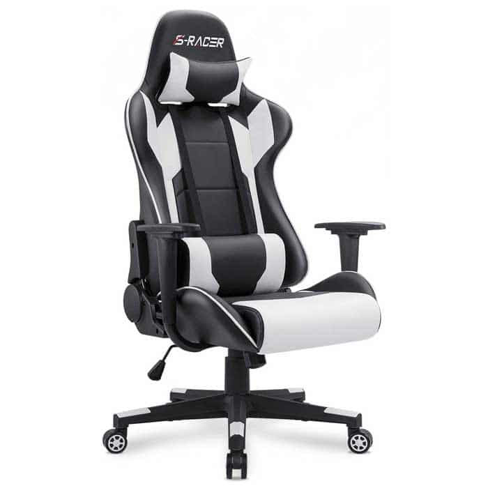 Homall Gaming Chair Office Chair High Back Computer Chair PU Leather Desk Chair