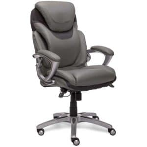 Serta AIR Health and Wellness Executive Office Chair High Back Ergonomic for Lumbar Support