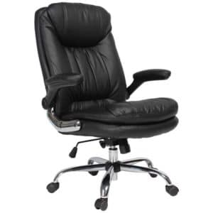 YAMASORO Ergonomic Executive Office Chair - High-Back Office Desk Chairs Leather Computer Chair