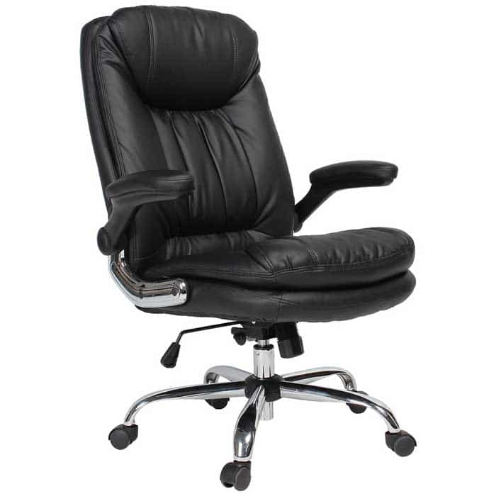 YAMASORO Ergonomic Executive Office Chair High Back Office Desk Chairs Leather Computer Chair