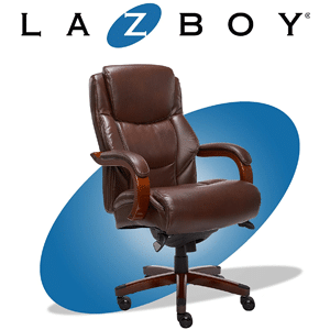 La Z Boy Delano Big and Tall Executive Office Chair