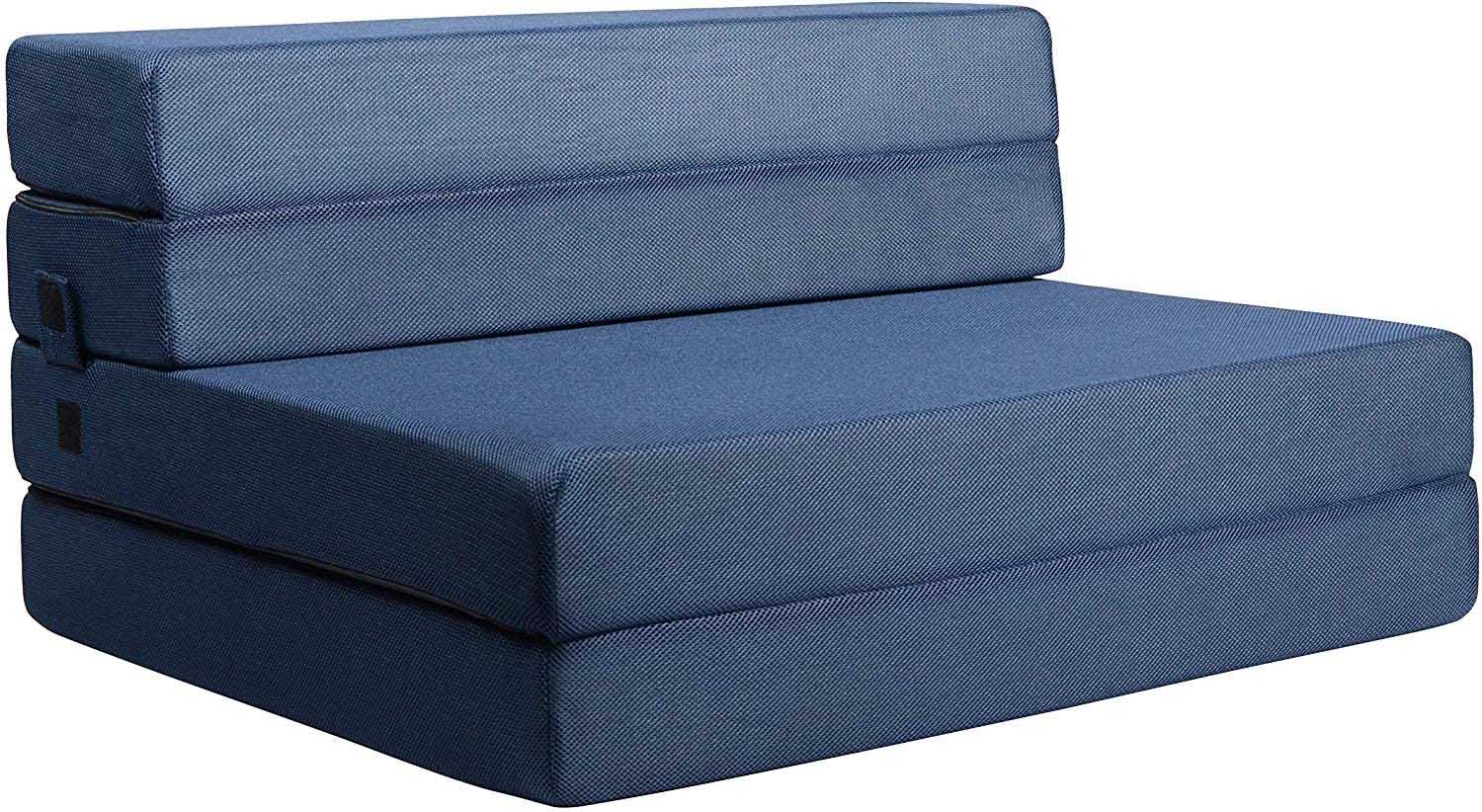 Milliard Tri Fold Foam Folding Mattress and Sofa Bed for Guests