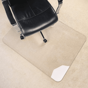 Heavy Duty Hard Chair Mat for Carpet or Hard Floor