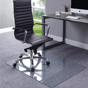 Do tempered glass chair mats break?