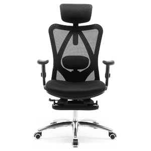 SIHOO Ergonomic Office Chair with Footrest, Recliner Computer Desk Chair
