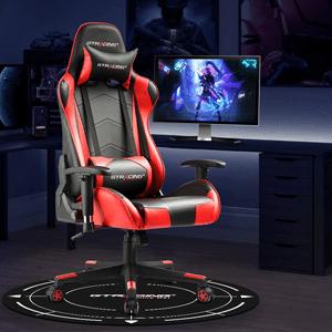 GTRACING Gaming Chair Mat for Hardwood Floor