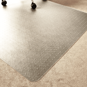 Marvelux Enhanced Polymer Eco Friendly Office Chair Mat for Low and Standard Pile Carpeted Floors