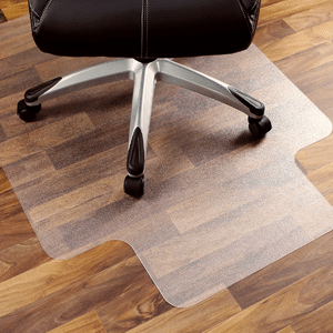 Marvelux Heavy Duty Polycarbonate Office Chair Mat for Hardwood Floors