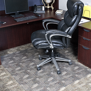 Rectangle Office Chair Mat For Low Pile Carpet