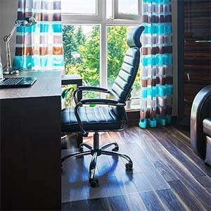 Do you need an office chair mat on tile?