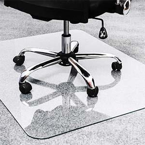 best glass chair mat for carpet